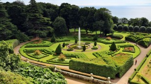 Gartenanlage von Sir Charles Barry