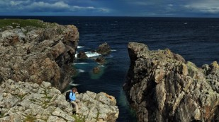 Klippen am Strathy Point