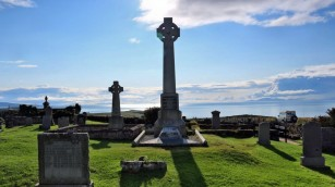 Friedhof in Kilmuir