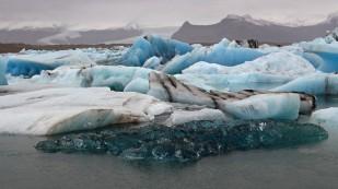 Gletschersee Jökulsarlon...