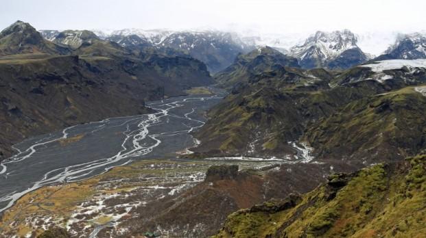 ...Richtung Myrdalsjökull