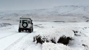 ...mit immer mehr Schnee