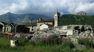Einstieg zum Col du Mont Cenis