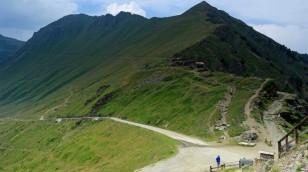 Passhöhe am Colle delle Finstre