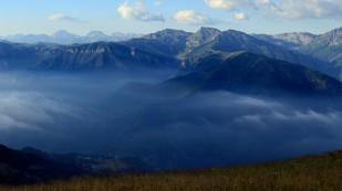 Federleichte Wolken