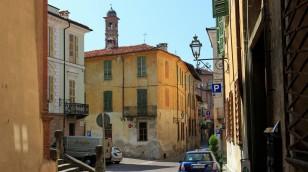 Altstadt von Saluzzo...