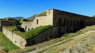 Fort de la Marguerie von nah...