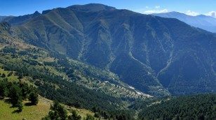 Südauffahrt zum Col de Tende