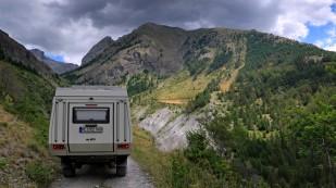 Richtung Col de Mallemort
