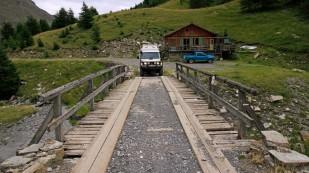 Auffahrt zum Col de Parpaillon