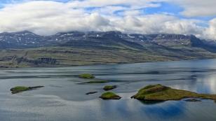 Blick über den Reyðarfjörður