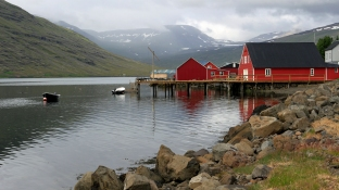 Idiylle in Eskifjörður