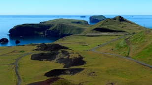 Stórhöfdi am Ende der Insel