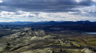 Kraterreihe gen Süden