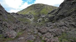 In der Vulkanspalte