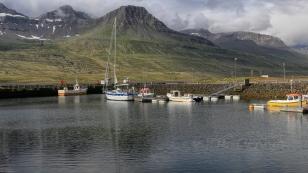 Hafen von Fáskrúðsfjörður
