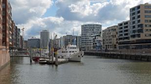 Hafen-City mit Traditionsschiffhafen