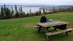 Unterwegs im Blomidon Provincial Park