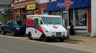 Kanadisches Postauto