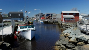 Hafen von Fisherman's Cove...