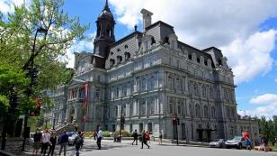 Hôtel de Ville, das städtische Rathaus