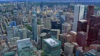 Blick vom CN Tower