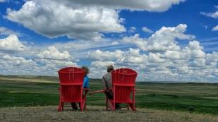 Red Chairs zum Entspannen
