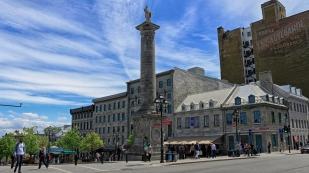 Place Jacques Cartier mit der Nelson-Säule