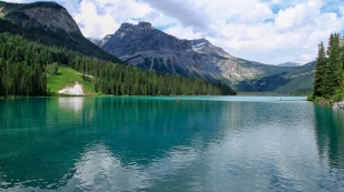 Emerald Lake bei Sonne...