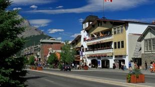 Banff - erinnert an die Alpen