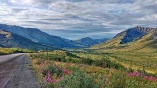Die Landschaft erinnert uns...