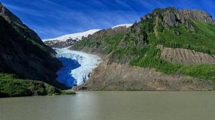 Gletscherzunge des Bear Glaciers
