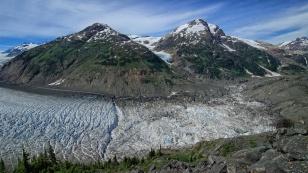 Eisbedeckte Berge