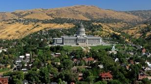 Das Capitol von Utah