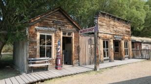 Alter Barbierladen in Nevada City