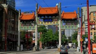 Millenium Gate zur Chinatown