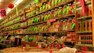 Läden in chinesischer Tradition
