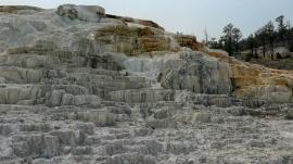 ...von Mammoth Hot Springs