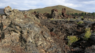 Lavafelder im Craters of the Moon