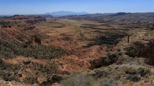Weite Blicke vom Upper South Desert Overlook