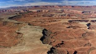 Ein riesiges Plateau...