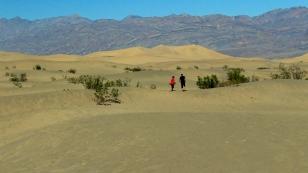 Dünen aus lockerem Sand...