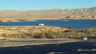 Unkompliziert Campen am Lake Mead