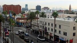 ...und auf dem Hollywood Boulevard...