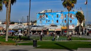 Auf dem Venice Boardwalk...
