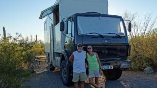 Sylvia und Paul haben wir beim Heidenheimer Weltenbummlertreffen kennengelernt. Von den beiden haben wir wertvolle Tipps für unsere Reise erhalten. Momentan sind sie selbst in Nordamerika unterwegs.