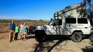 Christine und Felix haben wir das erste Mal im Joshua Tree Nationalpark getroffen. Die beiden sind ebenfalls mit einem Landcruiser Richtung Südamerika unterwegs. Wir hoffen auf ein baldiges Wiedersehen! www.jhimba.ch