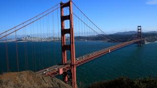 Die berühmte Brücke ist nicht Golden