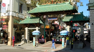 Eingang Chinatown
