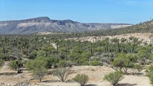 Tolle Landschaft in der Umgebung der Mission